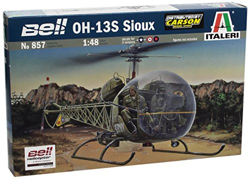 Italeri OH-13S Sioux 1:48 Scale Military Model Kit