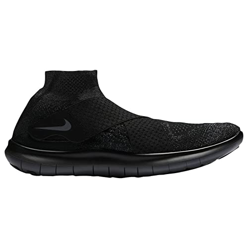 1b8fdcaf5a8 Nike Men s Free RN Motion Flyknit 2017 Running Shoe Black Dark Grey- Anthracite-Volt 14.0  Buy Online at Low Prices in India - Amazon.in