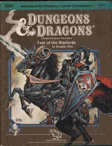 Test of the Warlords (Dungeons & Dragons Module CM1)
