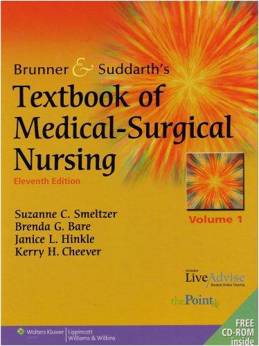 Brunner and Suddarth's Textbook of Medical-Surgical Nursing (2 Volume Set)