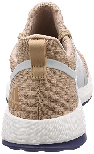 Scarpe Da Corsa Adidas Da Donna Pureboost X, Bianco / Argento, Beige Eu (ashpea / Bloodin)