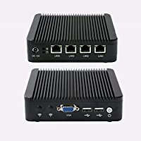 Qotom-Q190G4 Very cheap intel celeron Baytrail J1900 2.42G Quad core mini pc 8G RAM,64G SSD,300M WIFI