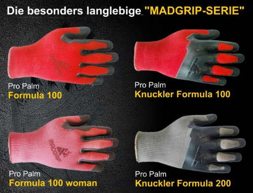 Gebol Madgrip Gants travaux antidérapants