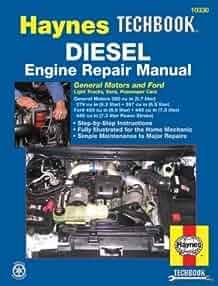 haynes diesel tech book engine repair manual general motors   ford  haynes automotive repair