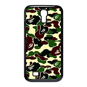 Samsung Galaxy S4 Cases Military Camouflage Patterns For Women Protective, Phone Case For Samsung Galaxy S4 M919 For Women Protective [Black]