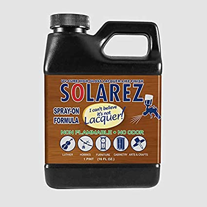 SOLAREZ ~ I Can't Believe It's Not Lacquer ~ Spray-ON