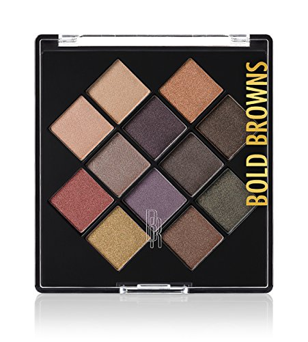 (Black Radiance Eye Appeal Shadow Palette, Bold Browns, 0.264 Ounce)