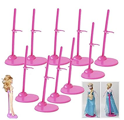 5PCS Doll Toy Stand Display Support Prop Up Mannequin Model Holder/_A