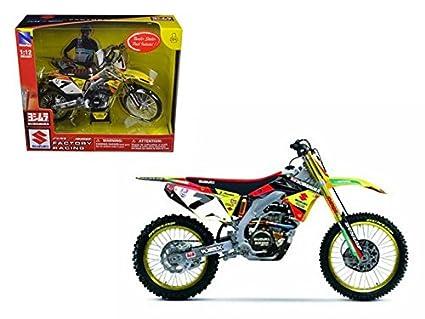 Suzuki RMZ 450 Stewart Yoshimura Toy Truck Motocross NEW New Ray Model Auto, motor: onderdelen, accessoires