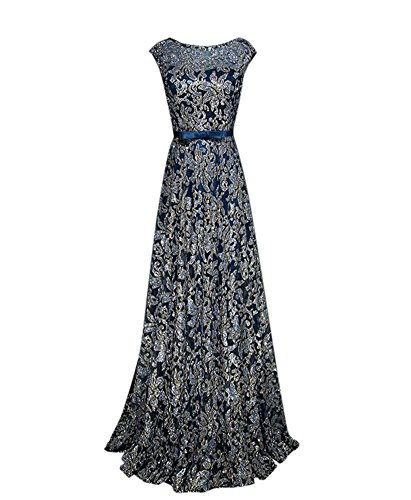 Drasawee Drasawee Damen Empire Blau Damen Empire Kleid F808xR