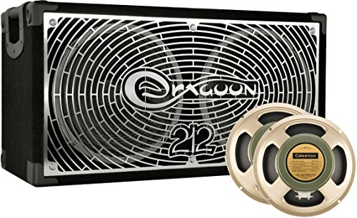 DRAGOON230C8HH Handcrafted High Performance 2x12 Inches Guitar Speaker Cabinet with Celestion G12 H Heritage