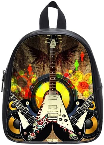 DIY Guitar Kids School Bag Children Backpacks Higher Quality