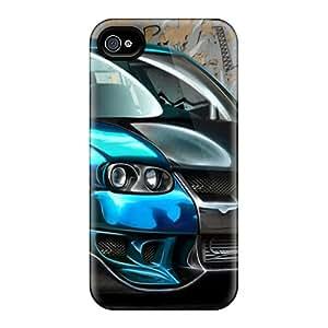 New Fashion Premium Tpu Case Cover For Iphone 4/4s - Volk