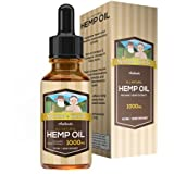 Cheap 1000mg Hemp Oil Drops:: Potent, High-Quality Formula :: 100% Natural Ingredients :: Contains Omega 3 & 6 Fatty Acids:: 30 Day Supply : Sigmund & Djordis