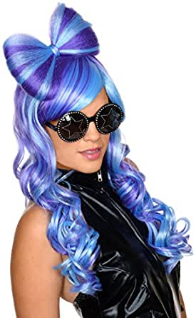 R52895/247 (Blue/Purple) Bow This Way Wig