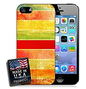 Vintage Style Colors iPhone 5/5s Hard Case