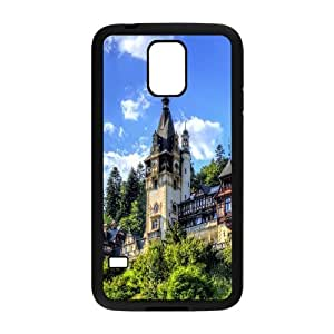 Samsung Galaxy S5 Cases, Shock Absorb Beautiful Peles Castle Cases for Samsung Galaxy S5 {Black}