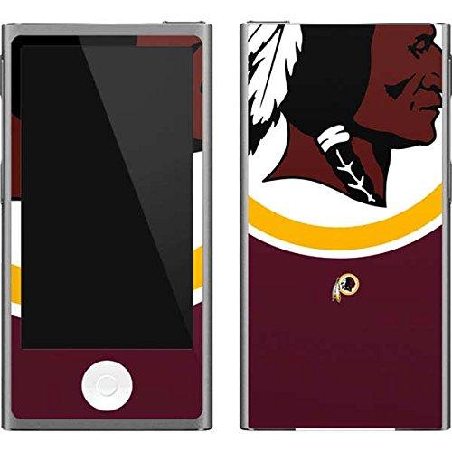 Washington Ipod Skin Redskins - Skinit NFL Washington Redskins iPod Nano (7th Gen&2012) Skin - Washington Redskins Large Logo Design - Ultra Thin, Lightweight Vinyl Decal Protection