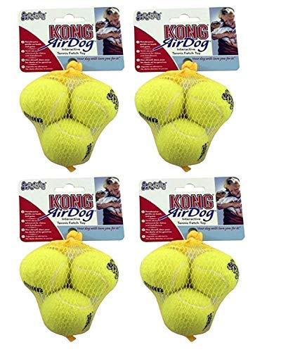 KONG Air Tennis Balls, Dog Toy X-Small x 12 Pack (Dog Air Balls Kong)