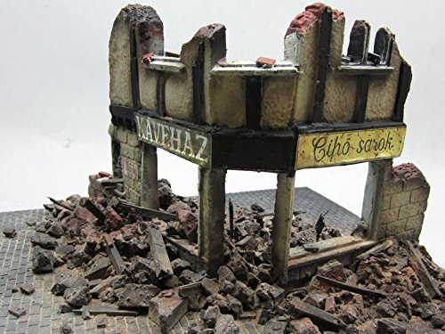 1/35 Scale - WW2 Ruined Shop Front Diorama - Military model kit … by FoG Models (Image #3)