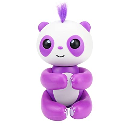 9b6f0b626300 Image Unavailable. Image not available for. Color: Aolvo Finger Baby Panda  Interactive Motion Toy ...