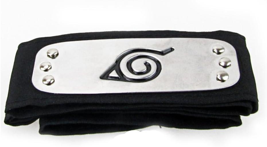 Naruto Shippuden Bandeau Headband Konoha Leaf cosplay de vente