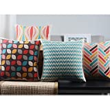 ??ailand??et of 4 Modern Minimalism New York's Lights Decorative Pillow Covers by Bailand Pillow Cover