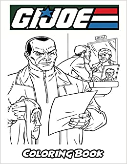 Amazon Com G I Joe Coloring Book Coloring Book For Kids And