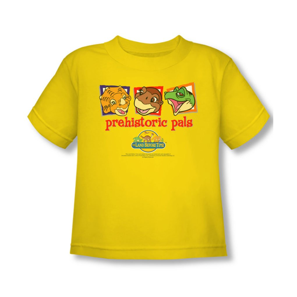 Land Before Time - Toddler Prehistoric Pals T-Shirt In Yellow
