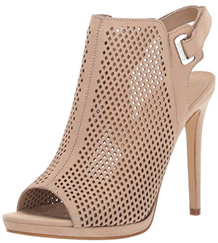 GUESS Women's Aubria Pump, Light Natural 8.5 M - Heels Guess High Heel