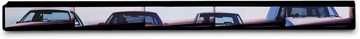 Rally Panoramic 5-Panel Rearview Mirror, Easy Installation, Fits All Cars, SUVs, Trucks and Vans (91515)