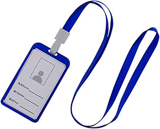 Funda 4pcs tarjeta Plástico transparente vertical identificación de titular