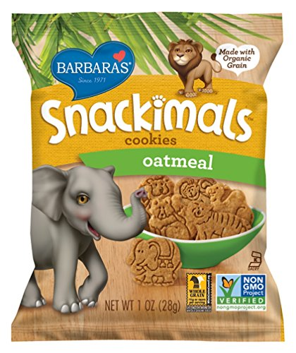 Barbaras Bakery Snackimals Cookies Oatmeal