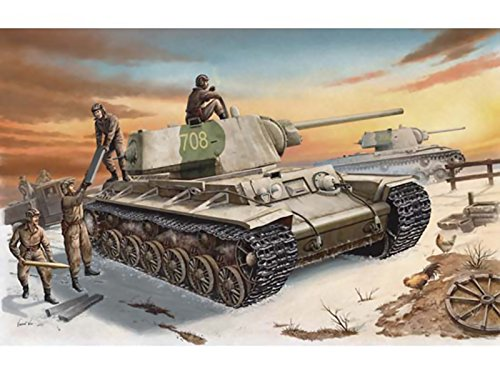 Trumpeter 1/35 00359 Russia KV-1 Model 1942 Heavy Cast Turret Tank