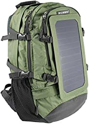 ECEEN Solar Backpack 7 Walls Solar Panel Charge for Smart Cell Phones and Tablets
