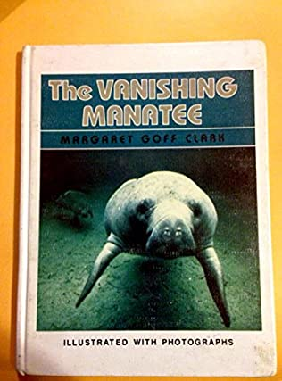book cover of Vanishing Manatee
