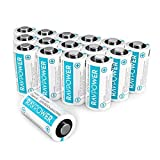 Updated CR123A Lithium Batteries RAVPower Non-Rechargeable 3V Lithium Battery, 16-Pack, 1500mAh Each, 10 Years of Shelf Life for Arlo Cameras, Polaroid, Flashlight, Microphones [CAN NOT BE RECHARGED]?