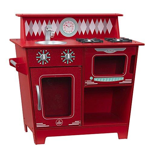 KidKraft Classic Kitchenette Playset - Red