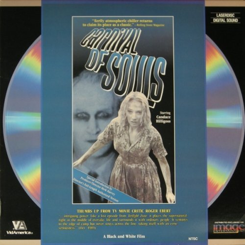 Carnival of Souls (1962) - Laserdisc - Ld Laser Disc - Directed By Herk Harvey