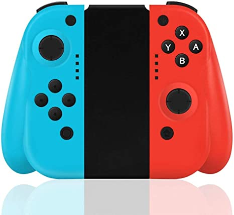 FiiMoo Nintendo Switch Wireless Controller,Wireless Joy-con para ...