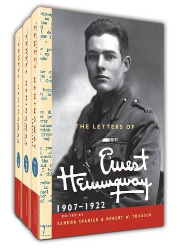 The Letters of Ernest Hemingway Hardback Set Volumes 1-3: Volume 1-3 (The Cambridge Edition of the Letters of Ernest Hem