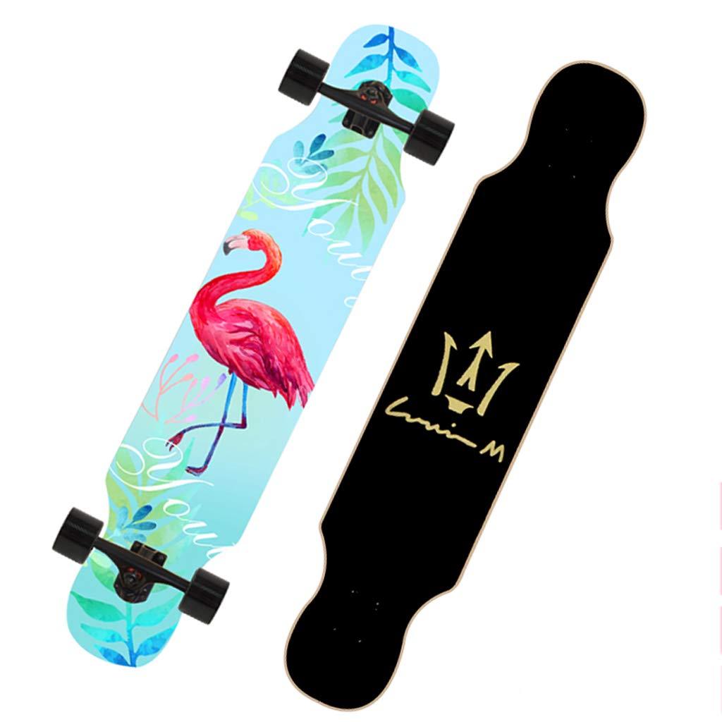 品質一番の DUWEN スケートボード初心者スケートボードロングボード大人のダンスボード男の子と女の子のブラシストリートティーンプロの旅行四輪スクーター (色 : f) F F f) B07NQ6XLWL E E E, タイヤ屋マルキ商店:33afac4f --- a0267596.xsph.ru