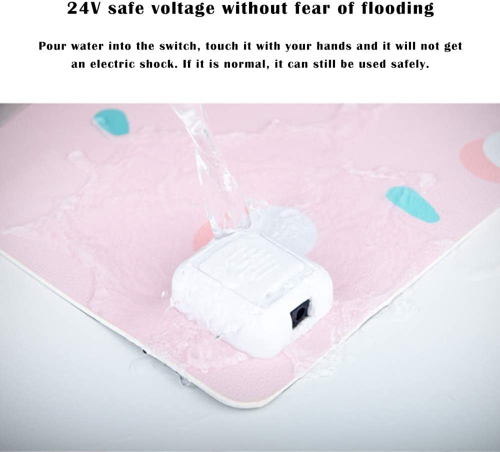 Heating Warm Table mat Electric Blanket Thermostat Keyboard Mouse pad Safe Warm Baby