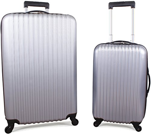 Utopia Luggage 20 Inch and 28 Inch 2 Piece AB...