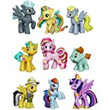 My Little Pony Friendship Is Magic Minis Set of 9 - Daring Pony Story, Ponyville Newsmaker & Soaring Pegasus