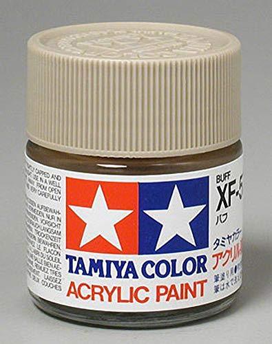 Tamiya America, Inc Acrylic XF57, Flat Buff, TAM81357