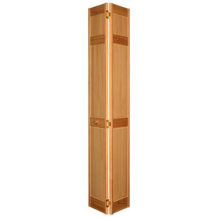 Amazon 6 Panel Maple Composite Interior Bi Fold Closet Door