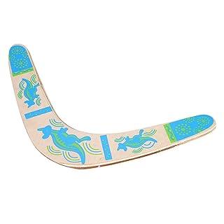 Boomerang in Legno a Forma di V di Ritorno Boomerang Giocattolo di Sport all'Aria Aperta Attrezzature Sportive da Gioco