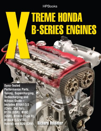 Xtreme Honda B-Series Engines HP1552: Dyno-Tested Performance Parts Combos, Supercharging, Turbocharging and Nitrous Oxide Includes B16A1/2/3 (Civic, Del Sol), B17A (GSR), B18C (GSR), B18C5 - Oxide Nitrous Handbook Performance