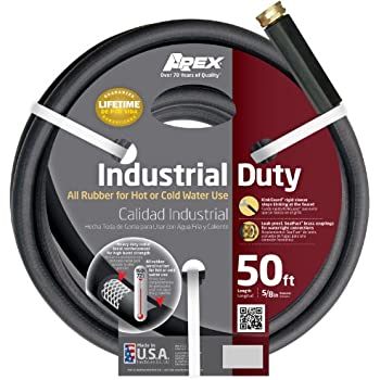Apex 8650-50 Commercial Hot and Cold Hose,  5/8-Inch-by-50-Foot